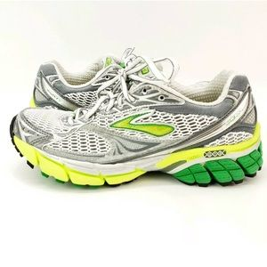 Brooks Ghost 4 Evolution Green Running Shoes